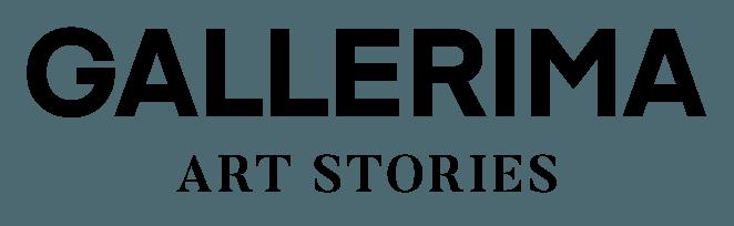 Gallerima logo black tagline