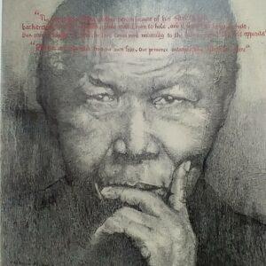 portraiture of Nelson Mandela